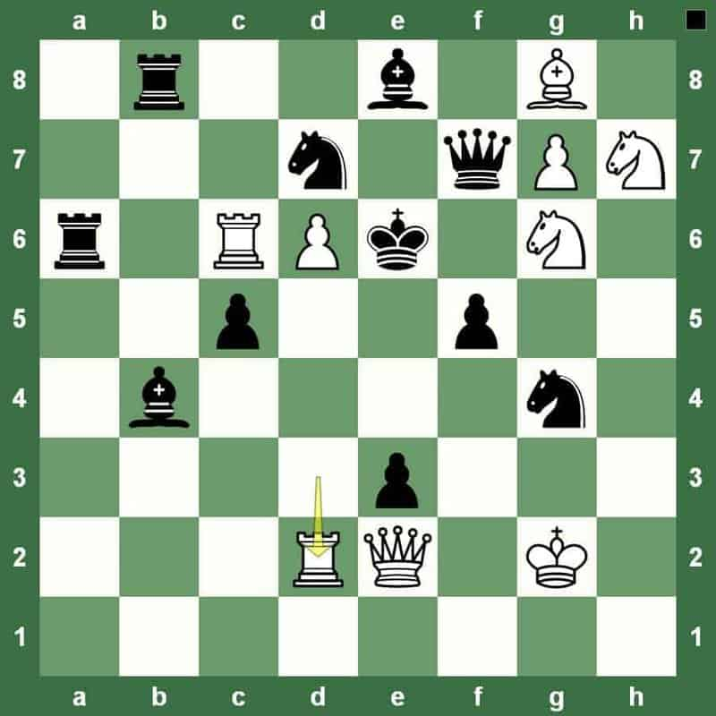 checkmate in 2 move