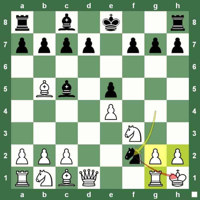 chess tactic smothered mate