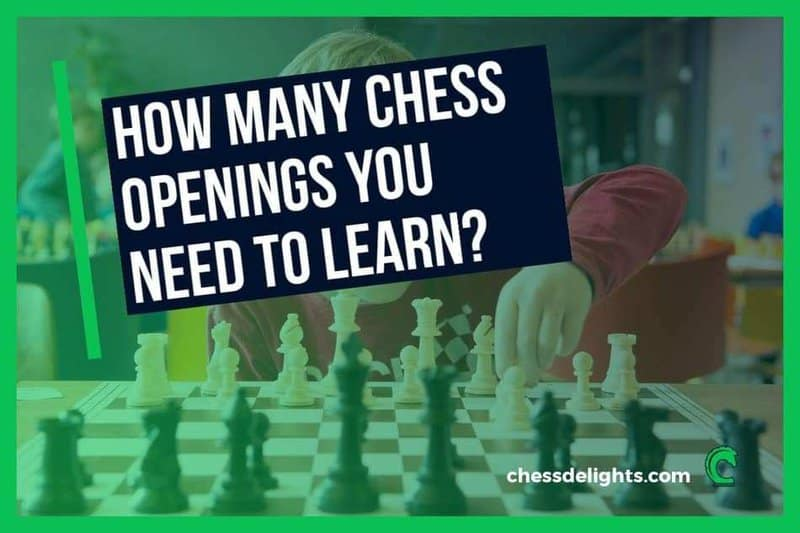 how many chess openings