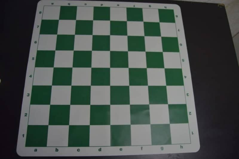 chess board set up