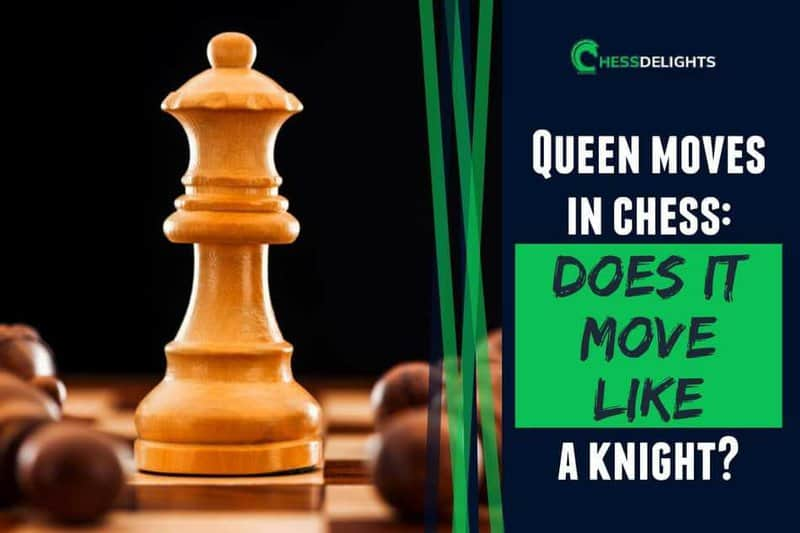 Queen moves in chess